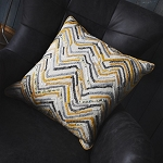 Cushion - Tangiers Ochre Square