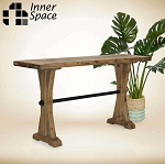 Trestle console / hall table