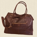 Bag Leather Weekender