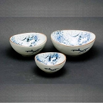 Tableware - Japanese  ceramic - Bunny Dishes Set of 3