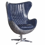Flight Deck Chair Stonewash Blue
