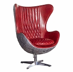 Flight Deck Chair Oxblood