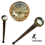 Walking Stick With Clock
