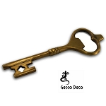 Bottle Opener, Key Brass MIDSO845