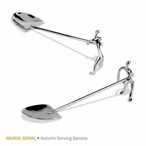 Dining Autumn Serving Spoons Set Of Two MG059