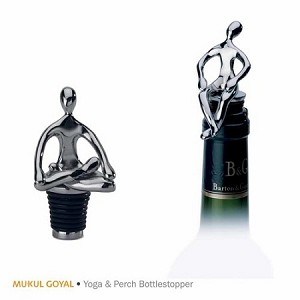 Bar Bottle Stop Yoga Chrome MG029