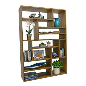 Echo room divider bookcase